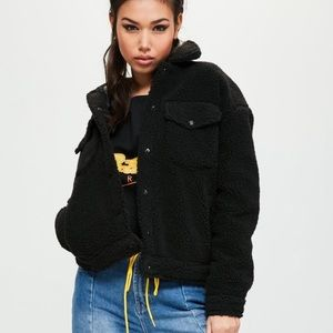 Missguided Shearling Jacket